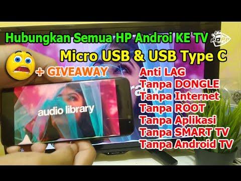 Kabel MHL HDMI Micro USB ke TV LED.