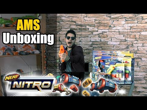 A.M.S UNBOXING | NERF NITRO + GIVEAWAY !!