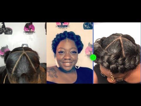 Halo Braid Janet Collection EzBraid EzTex Braiding Hair