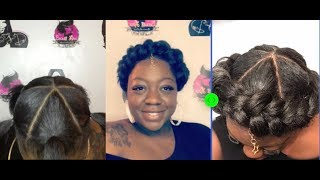 Halo Braid (Janet Collection EzBraid EzTex Braiding Hair)