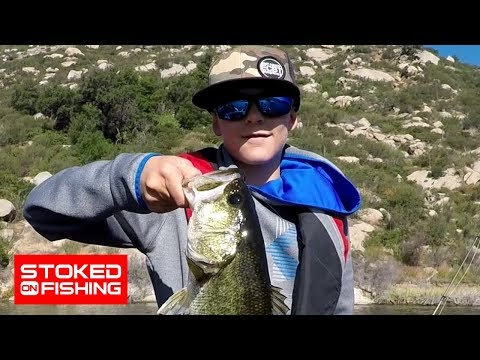 Stoked On Fishing The SoCal Jr. Bass Anglers Tournament