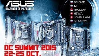 ASUS OC Summit 2015 Как это было. Видеоотчет