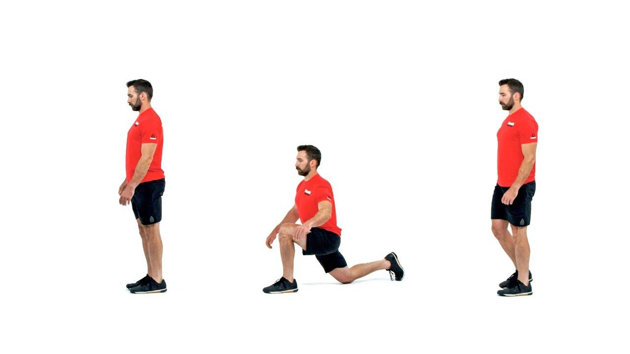 Image result for Walking Lunge