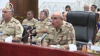 فيديو..وزير الدفاع: سنظل في الأمام دائمًا نحيط الشعب ونؤمنه