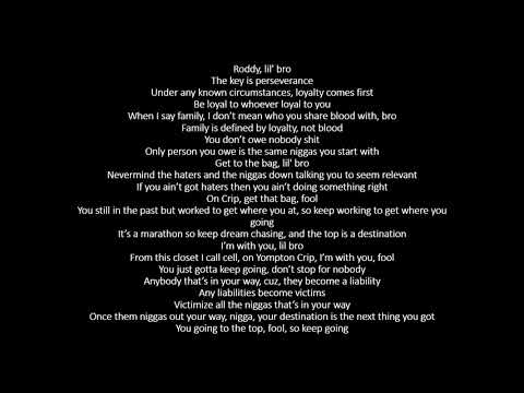Roddy Ricch Day One (OUTRO) – (lyrics) Day One (OUTRO
