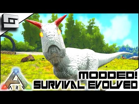 MODDED ARK: Survival Evolved - TAMING AN ALPHA CARNO! E6 ( Annunaki Genesis Gameplay )