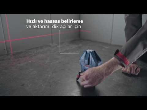 Видео обзор: Нивелир лазерный BOSCH GLL 3-15 X