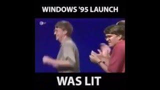 Windows 95 Launch Party Was Lit