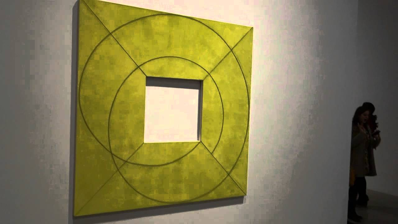 Robert Mangold New Paintings At Pace Gallery Youtube