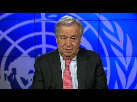 António Guterres (UN Secretary-General) on the International Day of United Nations Peacekeepers