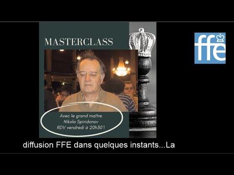 Masterclass FFE avec le GMI Nikola Spiridonov (2/2)