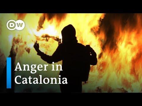 Violence rocks Barcelona
