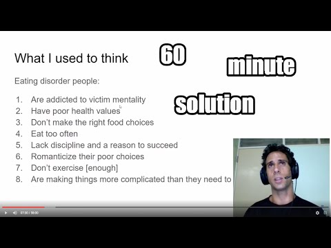 Yalla Papi - How To Overcome Binge Eating Disorder In 58 Minutes