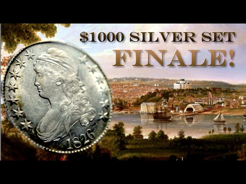 Lustrous Capped Bust Half Dollar: $1000 Coin Set Finale + Documentary