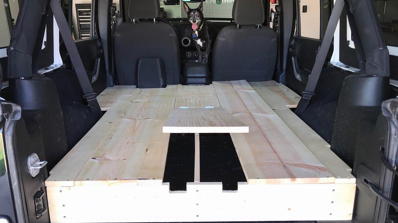 Diy Overland Deck With Storage Jeep Jku Youtube