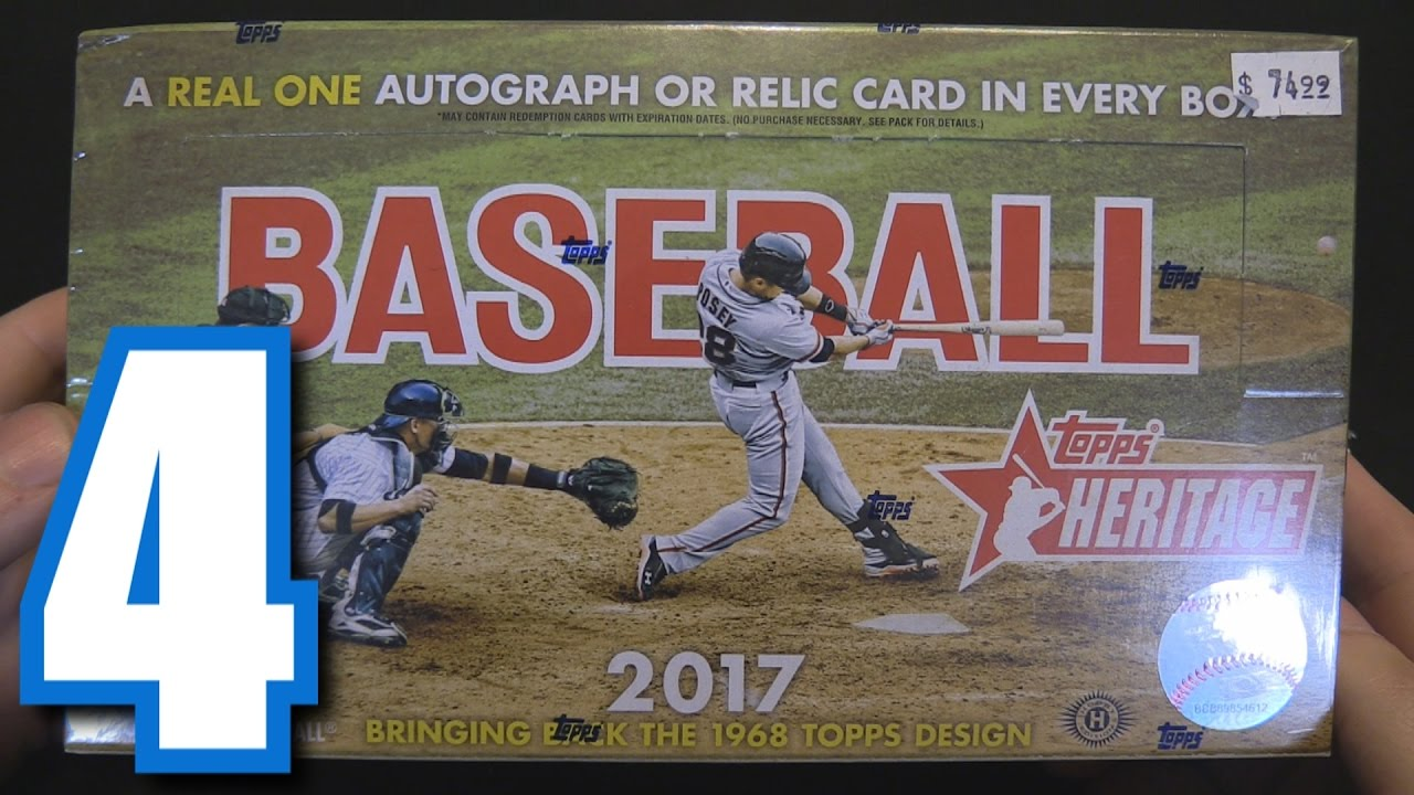 2017 topps heritage box break opening packs 4 doovi for 2017 mexican heritage night t shirt
