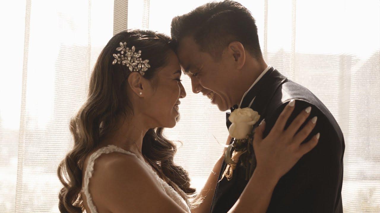 Epic Rooftop Los Angeles Wedding Film | Kevin + Angelica | Glenmark Hotel
