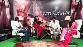 Telugutimes.net Bhagmathie Anushka and Team Interview