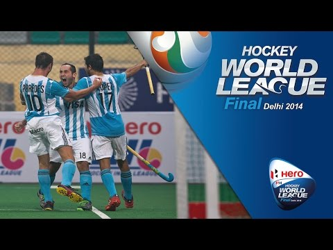 Netherlands vs Argentina - Men's Hero Hockey World League Final India Pool B [10/1/2014]