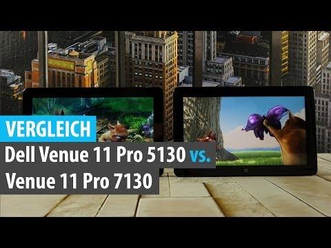 Vergleich: Dell Venue 11 Pro 5130 (Bay Trail) vs. Venue 11 Pro 7130 (Core) | tabtech.de