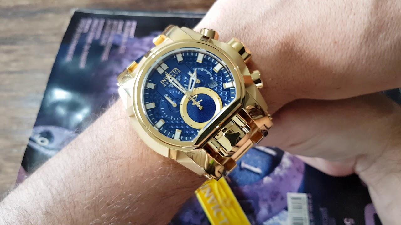 60825efa98f Relógio invicta magnum 25209 Bolt Zeus original de verdade só na  Altarelojoaria zap 16 98114 2823
