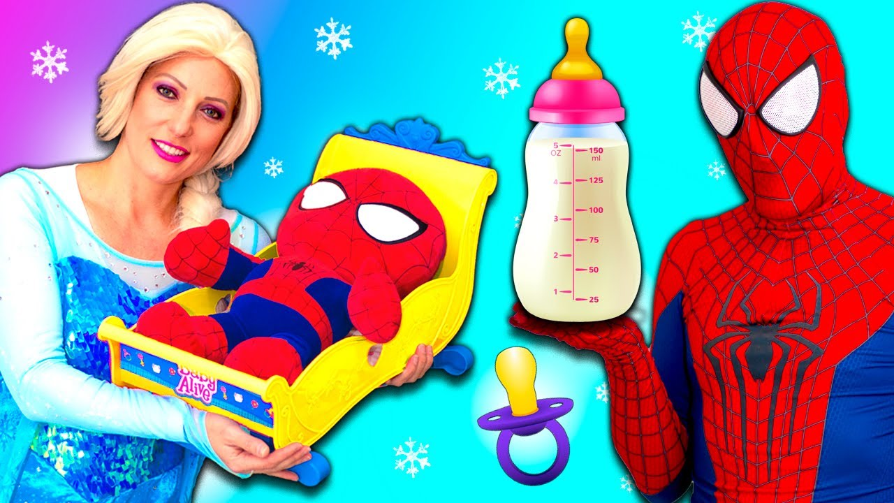 Superheroes VS Maleficent Prank with Spider-Man and Elsa