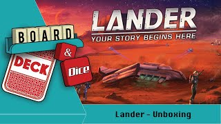 Lander Wot's in the Box?