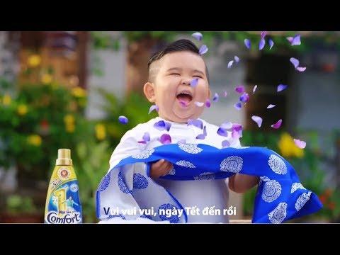 Quảng cáo Comfort Tết 2018 - Bé Kutin, Bảo An - Nhạc thiếu nhi vui nhộn