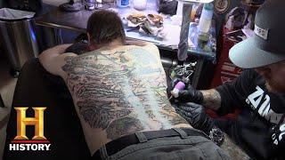 Alone: Bonus - Larry Gets a Tattoo (Season 5) | History
