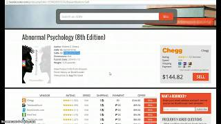 2016 - 45 Dollars Profit using Chegg & Bookscouter Money Making How To