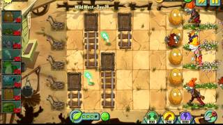 Plants vs Zombies 2 ver2 Wild West - Level 18