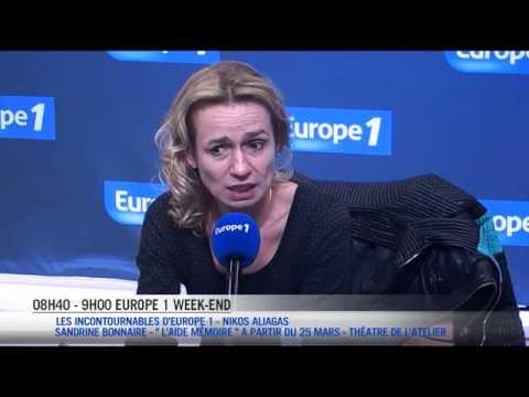 """Sandrine Bonnaire : """"Johnny Hallyday, une sacrée rencontre !"""""""