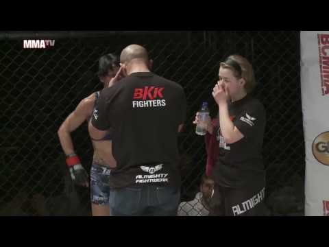BCMMA17  Wendy Mckenna vs Ella Wu  105lbs Pro MMA Contest