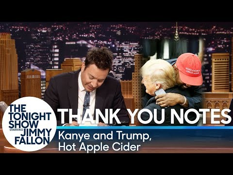 Thank You Notes: Kanye and Trump, Hot Apple Cider Mp3
