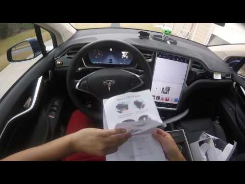 Tesla Model X Dash Cam Unbox And Install
