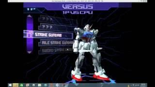 Gundam battle assault 3 pcsx2 gameplay