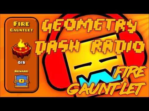 "Geometry Dash Gauntlet: ""Fire Gauntlet"" All Songs Complete [ Geometry Dash Music ]"