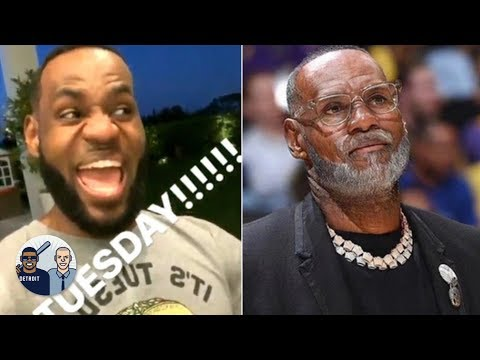 AD joins LeBron for Taco Tuesday, NBA players test out old age filter | Jalen & Jacoby