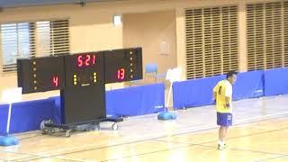 2017/08/12全日本マスターズハンドボール GHBP ARES対46G会(後半)