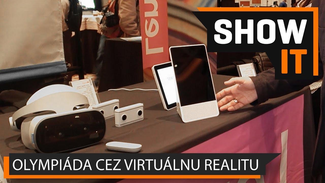 260ddd5ce VIDEO TOUCHIT: Okuliare pre virtuálnu realitu, 180° kamera a inteligentný  displej od Lenova na výstave CES 2018 | TOUCHIT