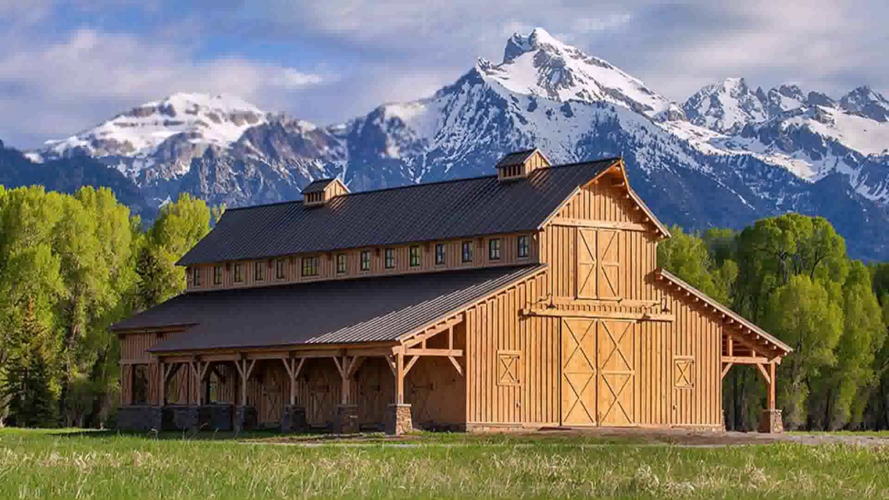 American style barn house australia youtube for American barn house floor plans