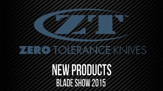 Zero Tolerance New Products | Blade Show 2015