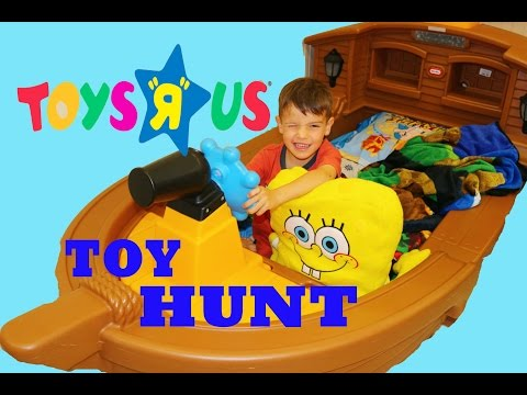 Toys R Us Toy Hunt Shopping Baby Alive Disney Peppa Pig Toy Hunting POWER WHEELS Toddler Pirate Bed
