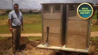 Mustek Donates Solar Powered Toilets To School
