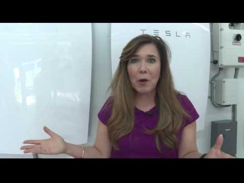 Tesla battery powers Sarasota home