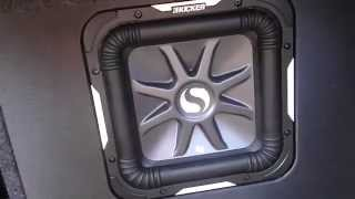 Kicker L7 10in Solo Baric - Review - Car Body FLEX!