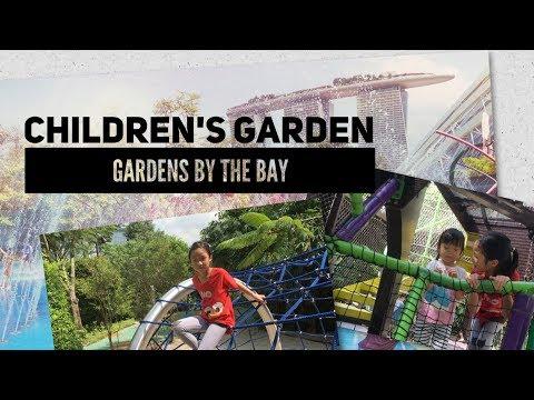 Singapore Best Free Playground | Children's Garden, Gardens By the Bay