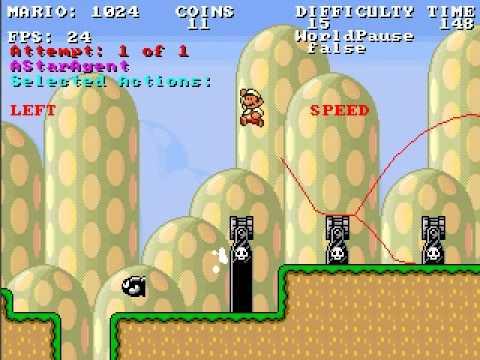 Infinite Mario AI - Long Level