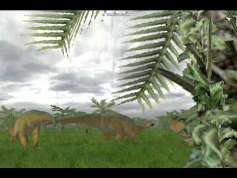 JPOG Tyrannosaurus and Edmontosaurus skin (MAMENCHI Mod)