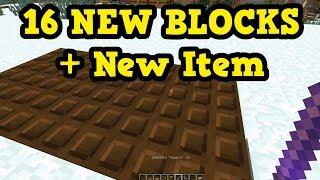 Minecraft 1.13 - Petrified Wood, 16 NEW Blocks, & NEW STICK